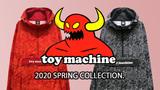 TOY MACHINE(トイ・マシーン)から総柄プリントのアノラック・パーカーとスケーターズ・ブランドらしさが光るデザインのロンTが入荷!