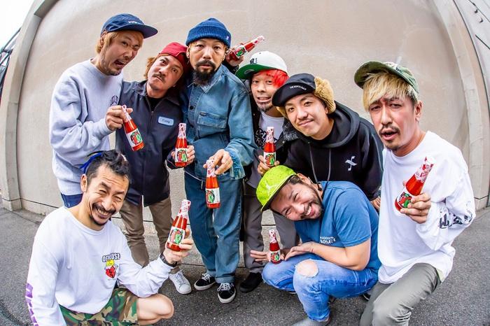 "GOOD4NOTHING × SHADOWS、2-3月にツーマン・ツアー""RED HOT TOUR""開催決定!"