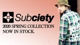 Subciety(サブサエティ)からチェック・シャツとレオパード柄のロング・スリーブ・Tシャツが、NineMicrophones(ナイン・マイクロフォンズ)からキャップが入荷!