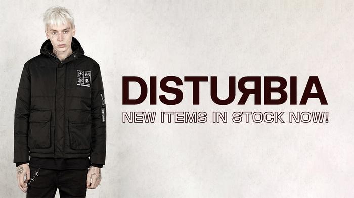 DISTURBIA CLOTHINGからジャケットほか最新アイテムが新入荷!