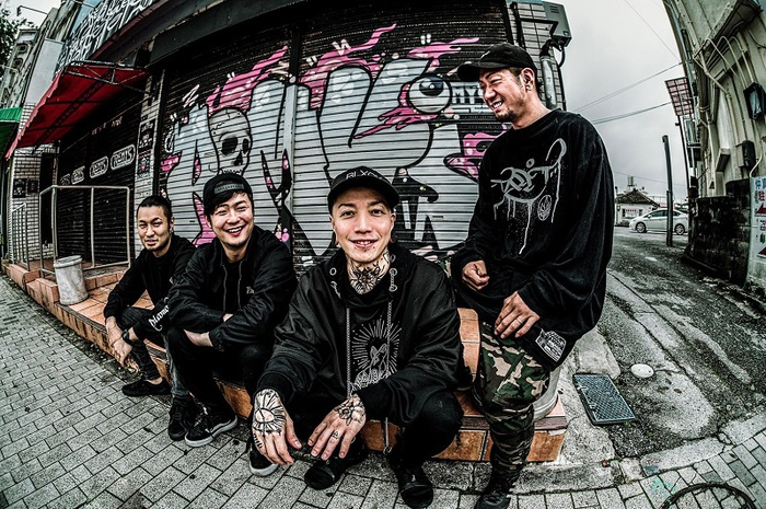 ROACH、新メンバー TONO(Gt/ROA)正式加入を発表!新ヴィジュアル、台湾フェスでのライヴ動画公開!