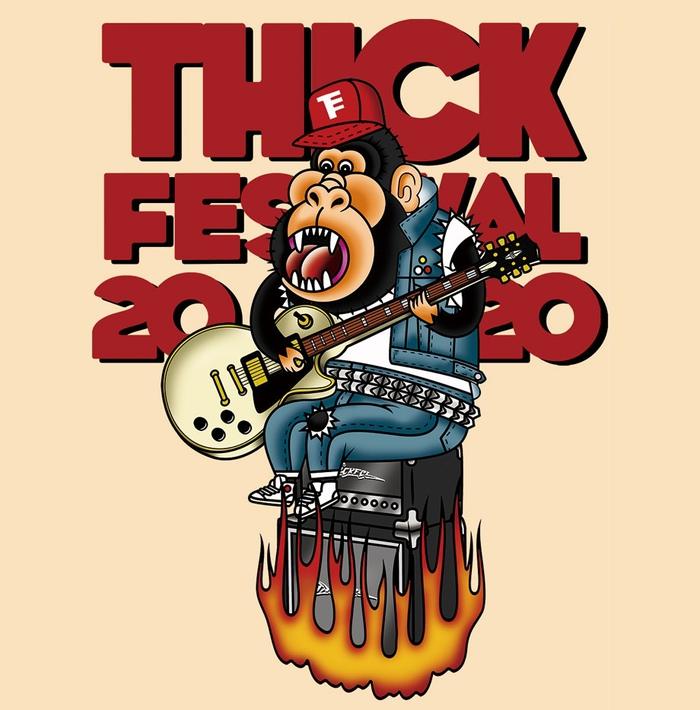 "ROACH、locofrank、SHIMA、PRAISE、Ailiph Doepaら出演!SECRET 7 LINE主催""THICK FESTIVAL 2020""、タイムテーブル公開!"