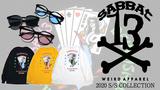 SABBAT13(サバトサーティーン)からサバトらしさ溢れるロンTと使いやすいサングラスが一挙入荷!