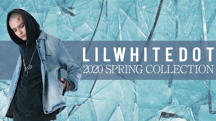 LILWHITE(dot) (リルホワイトドット)からダメージ加工されたパーカーやデニム地のコーチ・ジャケットなど新作アイテムが一挙入荷!