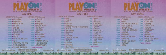 """ワーナー・ミュージック・グループのアーティストによるヴァーチャル音楽フェス""""PlayOn Fest""""、タイムテーブル発表!DISTURBED、LIZZO、HONNEの追加も!"""
