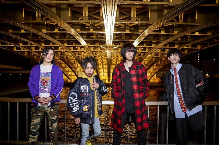 TAKE NO BREAK、4/22リリースのニュー・アルバム『A.G.A.G』衝撃のジャケット公開!