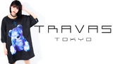 TRAVAS TOKYO(トラヴァストーキョー)新作入荷!人気のテディベア・シリーズにオーバーサイズTシャツが仲間入り!