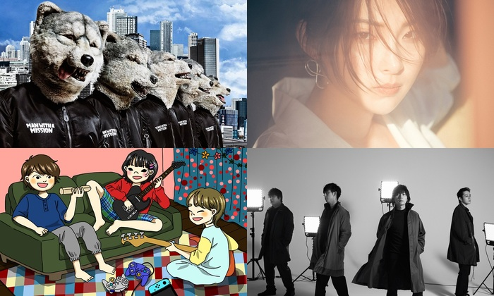 """Jean-Ken Johnny(MAN WITH A MISSION)ら4組、5/25より放送のFM802""""TACTY IN THE MORNING""""でクイズ企画に挑戦!リスナーとの対決も!"""