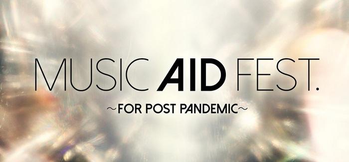 """LUNA SEAホストの音楽特番""""MUSIC AID FEST.~FOR POST PANDEMIC~""""、5/31生放送決定!エルレ、打首、lynch.、清春、9mm、FEEDERら出演発表!"""