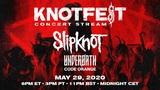 "SLIPKNOT、""Knotfest Roadshow""ストリーミング・イベント開催決定!UNDEROATH、CODE ORANGEのライヴ映像も!"