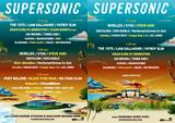 """9月開催の""""SUPERSONIC""""、第2弾ラインナップにSteve Aoki、GHOSTEMANEら決定!"""