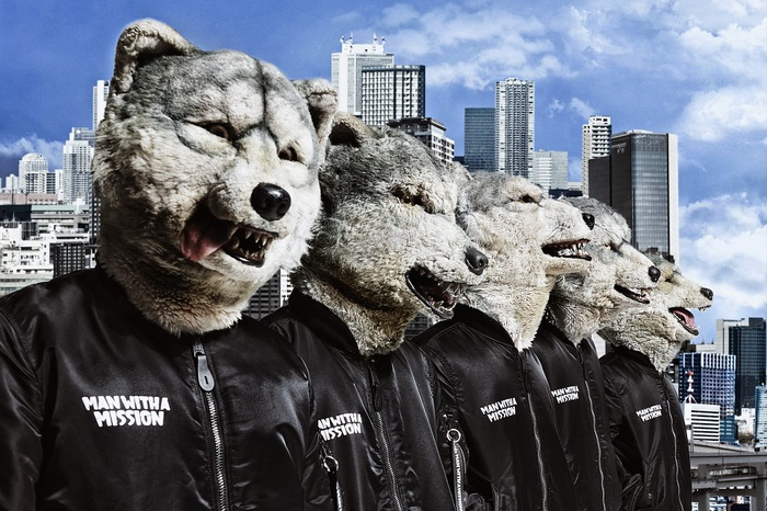 """MAN WITH A MISSION、10年を完全網羅したベスト盤『MAN WITH A """"BEST"""" MISSION』ジャケ写公開!"""
