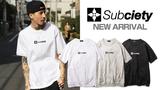 Subciety (サブサエティ)より、メインロゴである『THE BASE』を厚手の生地に刺繍で施した高級感溢れるロゴTシャツなど、新作入荷!