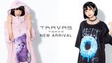 TRAVAS TOKYO (トラヴァストーキョー)より、テディベアデザインの半袖パーカーや、危険な香り漂うドーナツが印象的なTシャツなど新作アイテム入荷!