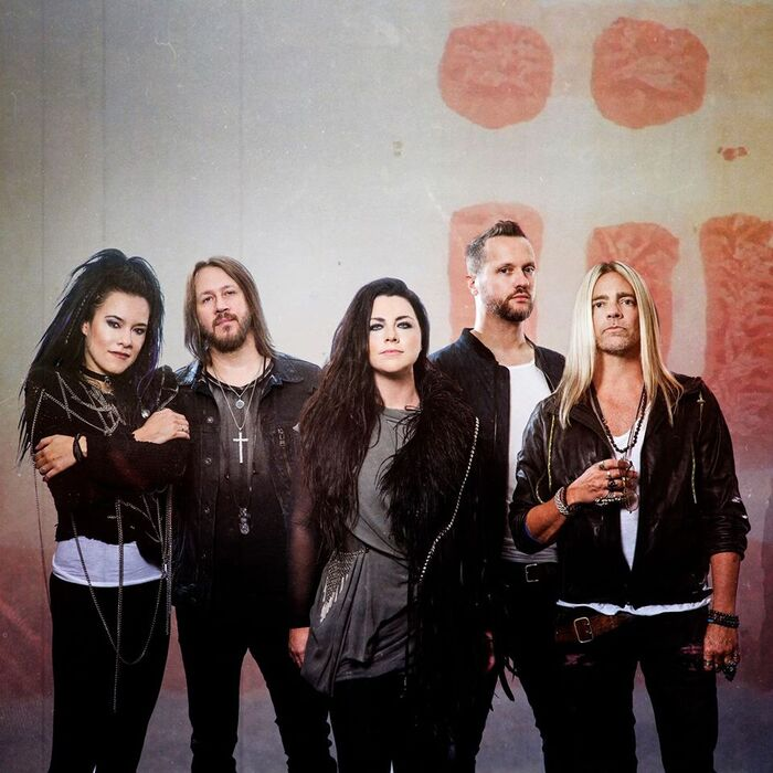 EVANESCENCE、新曲「Use My Voice」配信リリース!Lzzy Hale(HALESTORM)、Sharon Den Adel(WITHIN TEMPTATION)らゲスト参加!