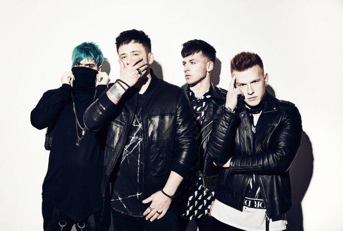 ペンシルベニア出身のニューメタル・バンド FROM ASHES TO NEW、Anders Fridén(IN FLAMES)をフィーチャーした新曲「Scars That I'm Hiding」MV公開!