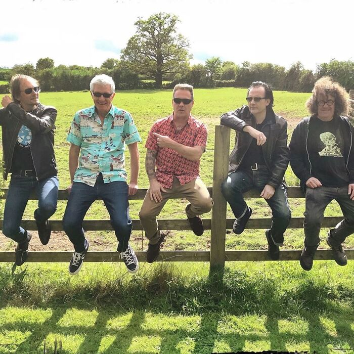 THE DAMNED、ニューEP『The Rockfield Files』10/16リリース!収録曲「Keep 'Em Alive」MV公開&先行配信スタート!