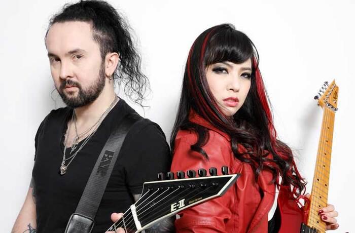 SAKI(Mary's Blood/NEMOPHILA)とFrédéric Leclercq(ex-DRAGONFORCE)によるプロジェクト AMAHIRU、待望のアルバム11/27世界同時リリース!