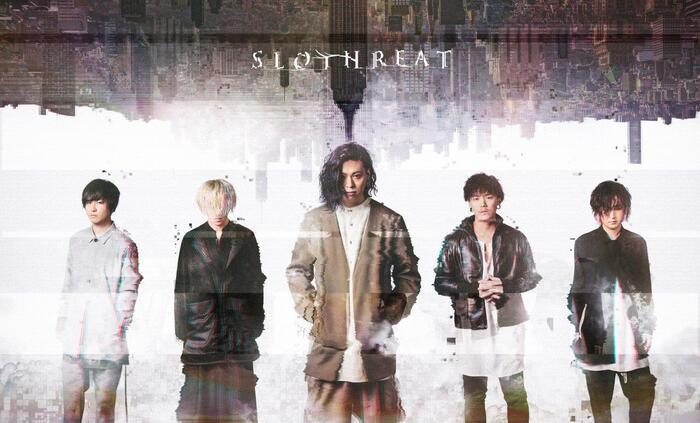 ハイブリッド・ロック・バンド SLOTHREAT、本日9/25リリースの1stフル・アルバム『THEMIS』より「LIVE FREELY」リリック・ビデオ公開!