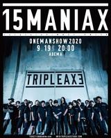 """SiM × coldrain × HEY-SMITHの3バンドによる""""TRIPLE AXE""""、初となる音源『15MANIAX』今冬リリース決定!"""