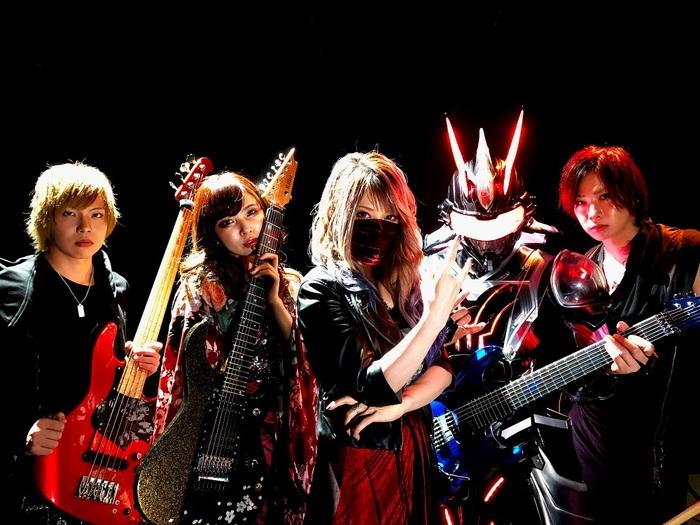 SAKI(Mary's Blood/NEMOPHILA)× Fuki(Unlucky Morpheus)× Kotono × Ediee Ironbunny(IRONBUNNY)によるLiSA「紅蓮華」カバー動画公開!