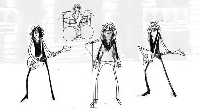 Ozzy Osbourne、ソロ・デビュー・アルバム『Blizzard Of Ozz』40周年記念し「Crazy Train」アニメMV公開!