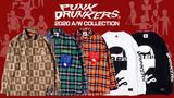PUNK DRUNKERS (パンクドランカーズ)より、中野のアパレルブランド「THUNDERBOX」とのコラボ総柄シャツやオタクになれるネルシャツなどが新入荷!