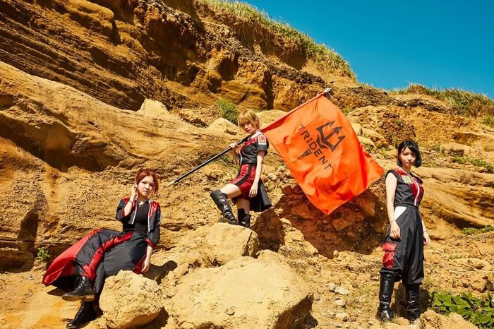 TRiDENT(ex-ガールズロックバンド革命)、よりハードにパワーアップした新曲「JUST  FIGHT」MV公開!
