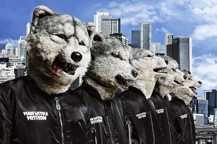 MAN WITH A MISSION、 新曲「All You Need」11/29配信決定!Zepp Nagoyaにてライヴ開催、WOWOWにて新番組スタート!