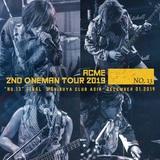 アクメ、11/4にライヴ・アルバム緊急リリース決定!12月には有観客&配信ワンマン・ライヴ開催!
