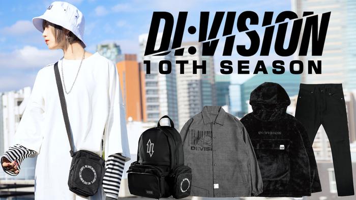 DI:VISION (ディビジョン) 10TH SEASON 第二弾が入荷!柔らかなグレンチェック生地を用いたシャツジャケットや、なめらかで暖かなファー生地を採用したアノラックパーカーなどがラインナップ!