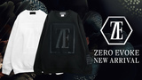 ZERO EVOKE (ゼロイヴォーク)より、ブランドを象徴するロゴシリーズから一層と高級感を纏った新デザインでスウェットがゲキクロに入荷!