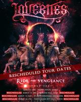 "LOVEBITES、""RIDE FOR VENGEANCE TOUR 2021""横浜、東京、名古屋公演の振替日程が決定!"
