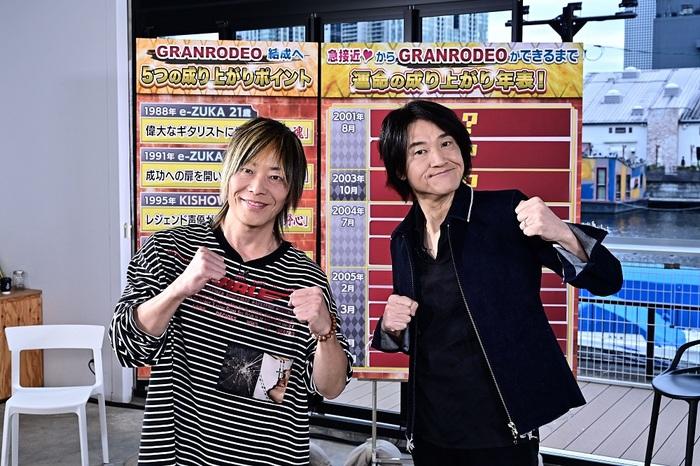 "GRANRODEO、冠番組""GRANRODEOの踊ロデオ!""Blu-rayが5/26リリース決定!"