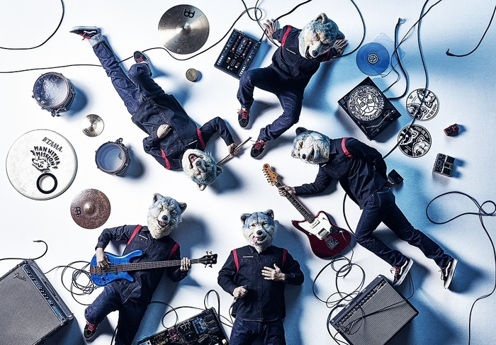"""MAN WITH A MISSION、2/9""""ニクの日""""である製造記念日に新アー写公開!20時より生配信も!"""