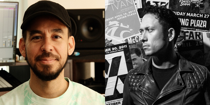 Mike Shinoda(LINKIN PARK)×Matthew Kiichi Heafy(TRIVIUM)がコラボレーション!新曲制作の模様を今週末Twitchで配信!
