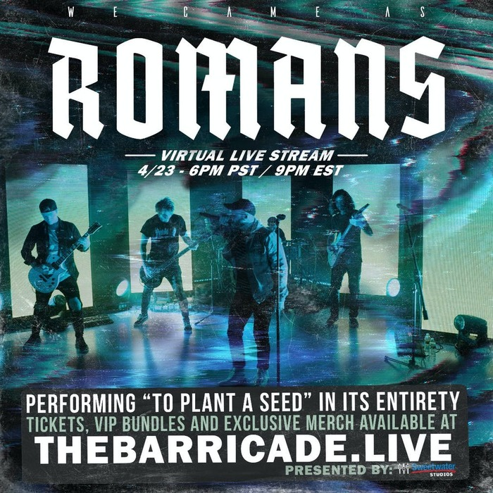 WE CAME AS ROMANS、デビュー・アルバム『To Plant A Seed』再現ストリーミング・ライヴを開催!