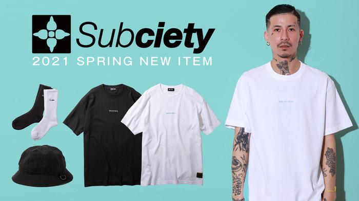 Subciety (サブサエティ)より、シンプルでラグジュアリー感のある『Robin』のロゴを刺繍で施したTシャツや、アクセントにDカンを配備したメトロハットなどが新入荷!