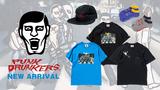 PUNK DRUNKERS (パンクドランカーズ)より、「BLACK PEARLS」とのコラボTシャツや、大人気ポケットシリーズの新作など新作一斉入荷!