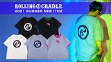 ROLLING CRADLE (ローリングクレイドル)より、はっきりとしたカラーリングが目を引くリンガーTシャツや、スタンダードなロゴをあしらったTシャツが新入荷!