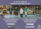 """東京発メロディック/ポップ・パンク・バンド Castaway、6/12-13開催""""Kaleidoscope Release Show""""追加ゲストにBACK LIFT、ONIONRING決定!"""