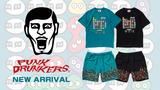 PUNK DRUNKERS(パンクドランカーズ)より、SEGAの代表的落ち物パズルゲーム「ぷよぷよ」とのコラボTシャツやショートパンツ、メタル風のロゴを刺繍したキャップなど、新作一斉入荷!