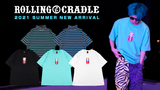 ROLLING CRADLE (ローリングクレイドル)より、あの炭酸飲料をオマージュしたデザインが目を引くTシャツや、ゆったりとしたサイジングのボーダータートルネックTシャツが新入荷!