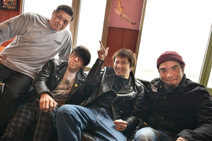 "Ken Yokoyama、2年ぶりツアー""4Wheels 9Lives Tour""開催決定!"