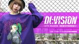 DI:VISION (ディヴィジョン) 13TH SEASON予約は明日7/18 23:59まで!ゲキクロ限定カラーの新作デザインTや9TH SEASON人気デザインのTシャツが復刻!