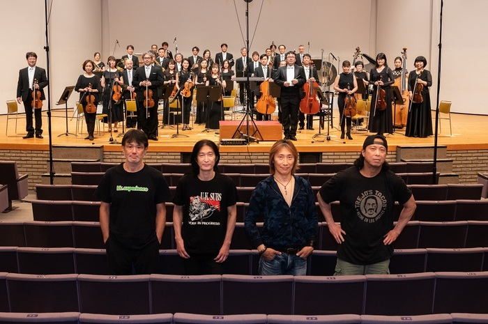 """OUTRAGE、新アー写公開!""""Outrageous Philharmonic Orchestra""""&ツアー詳細も発表!"""