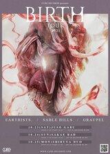 """Earthists.、Sable Hills、Graupelが東名阪で""""Birth Tour""""開催決定!3バンドによるスプリットEPリリースも!"""