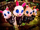 """謎のウサギ型地底人集団""""Rorschach.inc""""、2ndデジタル・シングル「Rorschach」リリース!地上初ライヴも開催決定!"""