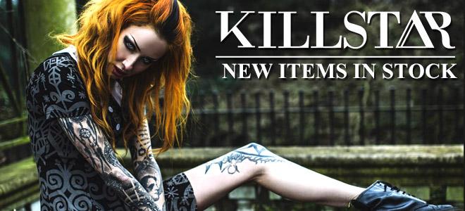 KILL STAR CLOTHING(キルスター・クロージング)からMARILYN MANSONコラボ・アイテムが更に登場!ほかオーバー・サイズ・ニットやアクセサリーなどが新入荷!