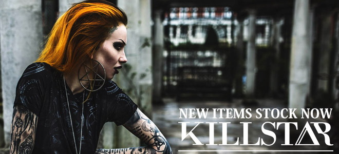 """KILL STAR CLOTHING(キルスター・クロージング)から""""バフォメット""""などの悪魔的なモチーフを落とし込んだスウェットやドレス、ほかVESTALからはロック・ファッションに最適な腕時計が登場!"""